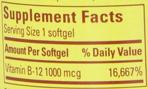 Nature Made Vitamin B12 1000 mcg.