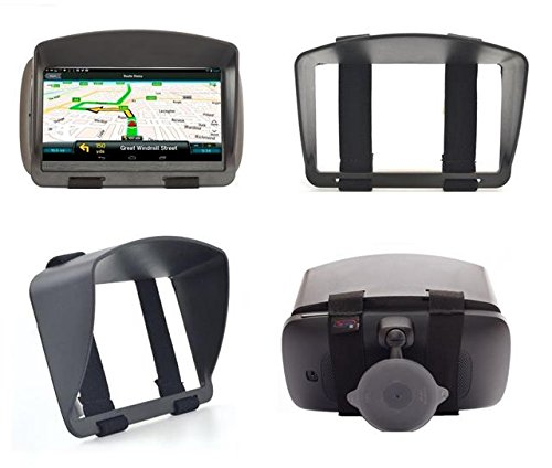 sun shade visor screen for tomtom via live 125 via 135. Black Bedroom Furniture Sets. Home Design Ideas