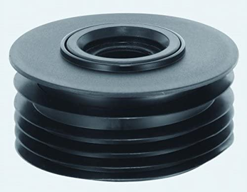 """Drain Adapter 4/"""" Soil PVC Waste to Clay Cast Iron Universal Pipe Connector"""