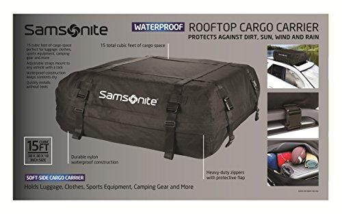 Rooftop Cargo Carrier Rental >> Amazon Com Samsonite Rooftop Cargo Carrier 100 Waterproof Automotive