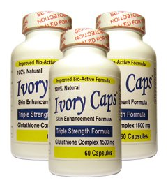 (3 Pack) Ivory Caps **BEST VALUE**- Maxi