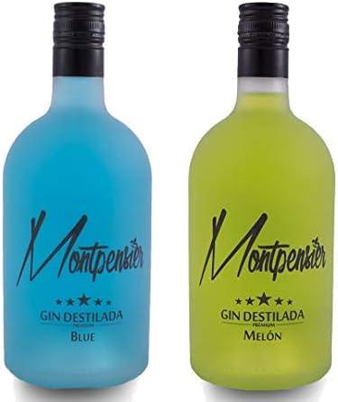 Pack de 2 botellas Montpensier Gin Premium. 5 destilaciones y 10 ...