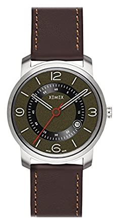 XEMEX Armbanduhr PICCADILLY QUARTZ Ref. 880.22 3 HANDS DATE