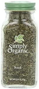 Simply Organic, Basil, .54 oz