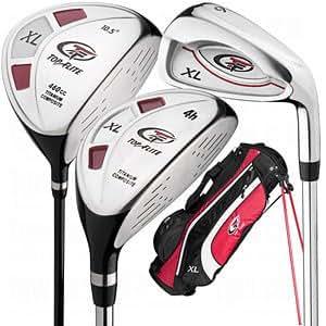 Amazon.com : Top-Flite XL 13-Piece Complete Golf Club Set (Left Hand) : Sports & Outdoors