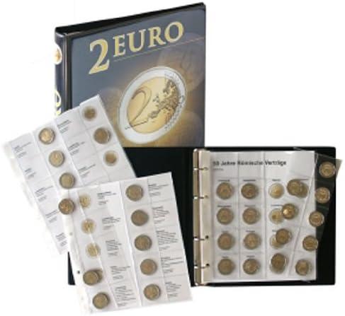 Lindner 1118M2 Álbum para monedas de 2 Euros conmemorativas: Todos países Euros (Cronológicos de Junio 2012): Amazon.es: Juguetes y juegos