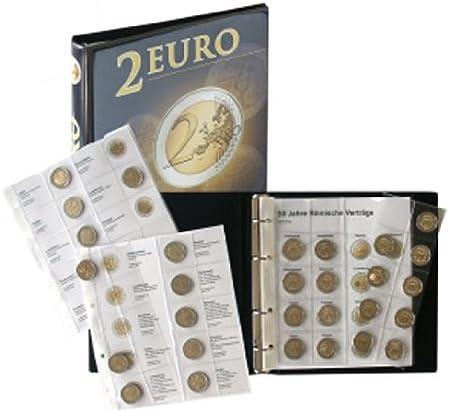 Lindner 1118M2 Álbum para monedas de 2 Euros conmemorativas: Todos ...