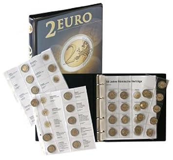 Lindner 1118M2 Álbum para monedas de 2 Euros conmemorativas ...