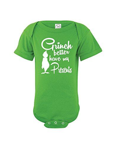 crazwear-grinch-better-have-my-presents-xmas-bodysuit-christmas-cute-one-piece-baby-6-months-green
