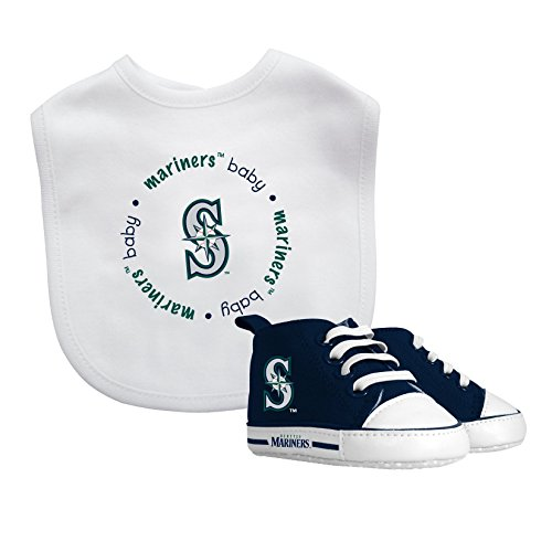 Baby Fanatic Bib with Pre-Walker, Seattle Mariners