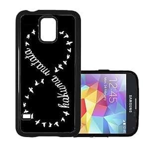 Shawnex Hakuna Matata Tribal Black Thinshell Case Protective Samsung S5 Fits Samsung Galaxy S5