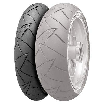 120/70ZR-18 (59W) Continental ContiRoad Attack 2 Hypersport Touring Radial Front Motorcycle Tire for Harley-Davidson Sportster 883 Superlow XL883L (ABS) 2014-2017