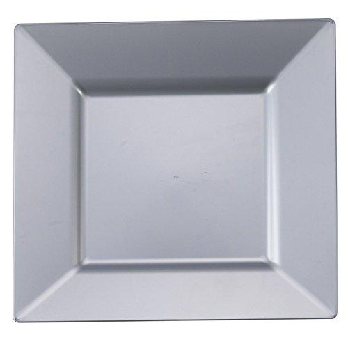 lver Plastic Square 8