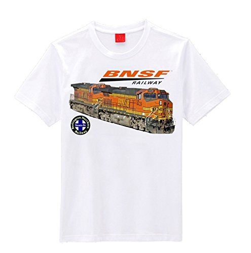 "BNSF Dash 9s"" Train T-Shirt (XX-Large)"