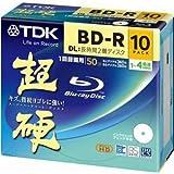 TDK MBRV50-HCPWB10L 録画用ブルーレイ BD-R DL 50GB 10枚入り