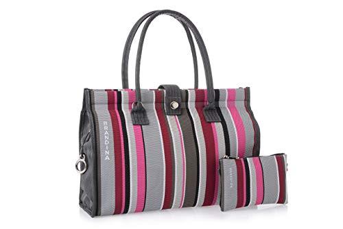 Bouganville donna donna Plus Brandina moda collezione Hotel esclusiva Borsa firmata vWHff