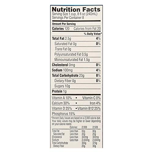 Rice Dream Original Rice Drink - Enriched Organic - Case of 8 - 64 Fl oz. by Rice Dream (Image #1)