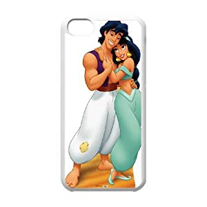 iPhone 5c Cell Phone Case White Disney Aladdin Character Princess Jasmine 07 Msyez