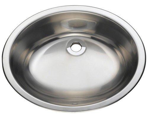 Polaris Sinks P7191 Stainless Steel Vanity Sink by Polaris Sinks by Polaris Sinks