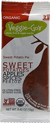 Veggie-Go's Organic Fruit & Veggie Strips - Sweet Potato Pie - 20 ct