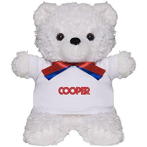 CafePress - Cooper - - Teddy Bear, Plush Stuffed Animal