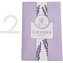 LALANG Multifunction Scented Hanging Sachet Spices Fragrance Bag for Closets Wardrobe Car (Purple lavender)