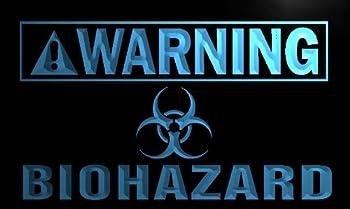 Warning Biohazard LED Sign Neon Light Sign Display m883-b(c)