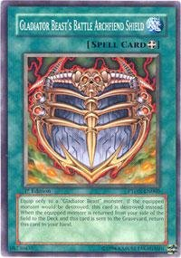 Yu-Gi-Oh! - Gladiator Beast's Battle Archfiend Shield (PTDN-EN060) - Phantom Darkness - 1st Edition - - Edition Shield 1st