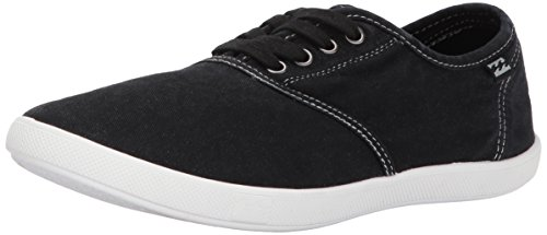 Billabong Women's Addy Fashion Sneaker,Off Black,9 M US