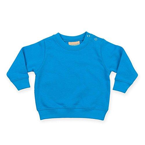 Larkwood Crew Neck Infants Sweatshirt - 3 Colours/Siz - Sapphire - 6-12 Months