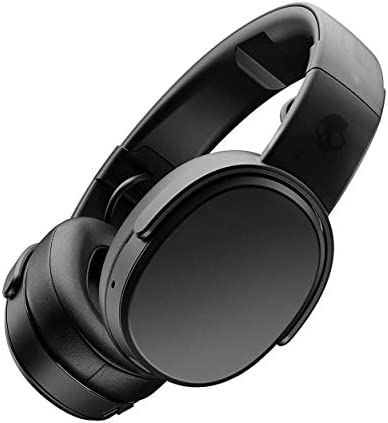 Skullcandy Crusher Headphones with Built-in Amplifier and Mic, Black