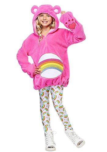 Care Bears Deluxe Cheer Bear Tween Hoodie Costume -