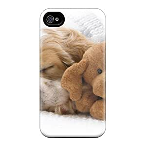 High Quality Snoozing With Teddy Cases For Case Samsung Galaxy S4 I9500 Cover / Perfect Cases
