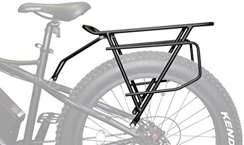 Rambo Bikes Extra Large Cargo/Luggage Rear Bike Rack, Black (R150)