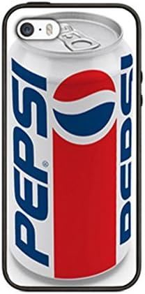 Funda de Pepsi Cola para iphone 5/5S PS18 frontera silicona negro @ pattayamart: Amazon.es: Jardín