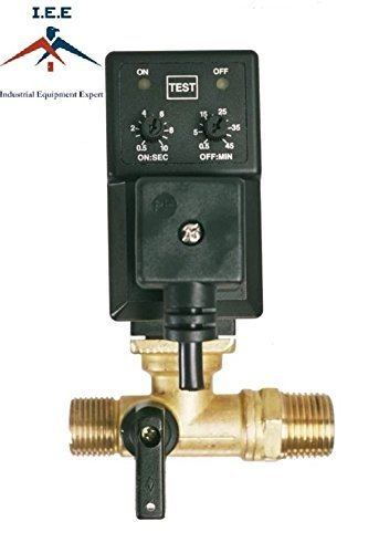 Automatic Compressor Drain (Automatic Electronic Timed Air Tank Water Moisture Drain Valve For Compressor)