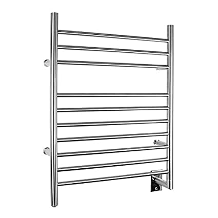WarmlyYours Infinity Hard-Wire Towel Warmer TW-F10BS-HW-TI