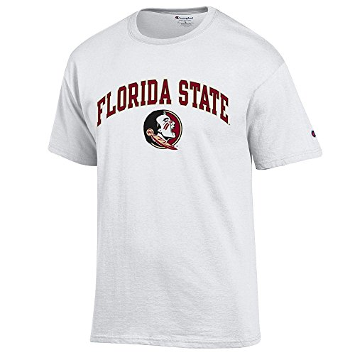 Elite Fan Shop Florida State Seminoles Tshirt Varsity White - XL