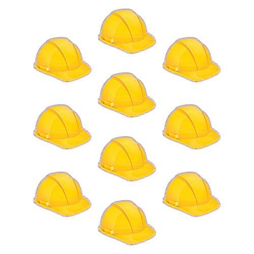 Hat Bulletin Board - Fun Express - Under Construction Hats Bb Cutouts - Educational - Classroom Decorations - Bulletin Board Decor - 30 Pieces