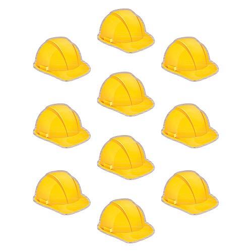 Fun Express - Under Construction Hats Bb Cutouts - Educational - Classroom Decorations - Bulletin Board Decor - 30 Pieces
