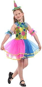 Krazy Toys Disfraz Arlequin Niña (10-12 años): Amazon.es ...