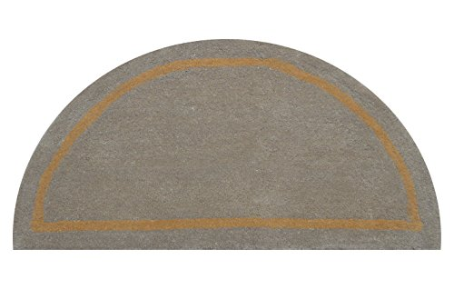 Deluxe Comfort Henley Wool Rug Half Round - Camel - Rug - Carpet and Rugs - Modern Area Rug - Fluffy Rug - Carpet Rugs - Carpet - Beautiful Rugs for Every Room and Occasion