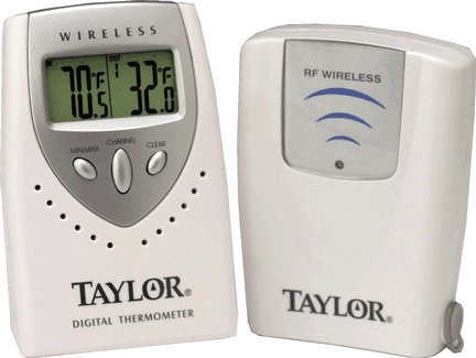 Taylor Precision Taylor 1431 Digital Thermometer Indoor/o...