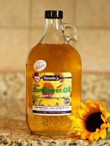 Half Gallon Cold Pressed High Oleic Sunflower Oil 1 Cold Pressed at 85 degrees Great for Oil Pulling Heart Healthy