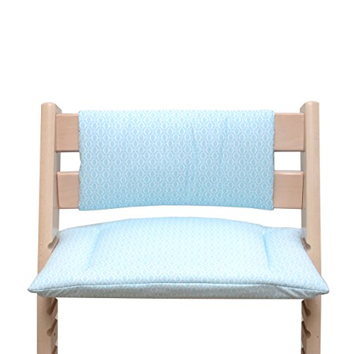 Blausberg Baby - Cushion Set Junior for Tripp Trapp High Chair of Stokke - Turquoise Regent