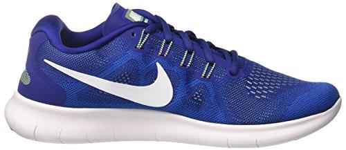 Nike Mens Free Rn 2017 Scarpe Da Corsa (11, Blu-m)