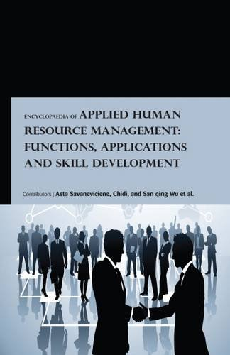 Download Encyclopaedia of Applied Human Resource Management: Functions, Applications and Skill Development (3 Volumes) ebook
