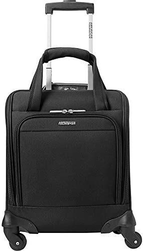 American Tourister Lynnwood 16 Inch Underseat Spinner Carry-On Luggage With Wheels - Black