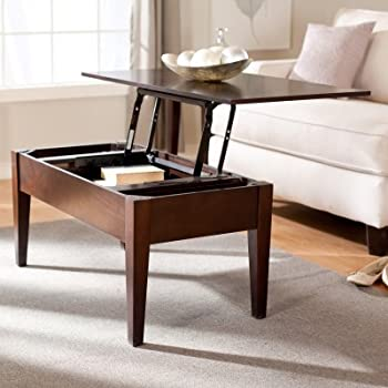 Amazon Turner Lift Top Coffee Table Kitchen & Dining