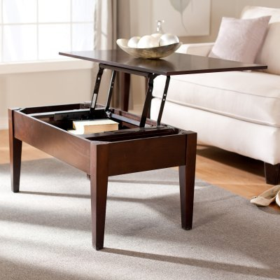 Turner Lift Top Coffee Table - Espresso - WSN04-C